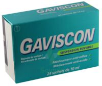 GAVISCON, suspension buvable en sachet à BAUME-LES-DAMES
