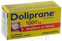 DOLIPRANE 1000 mg Comprimés effervescents sécables T/8 à BAUME-LES-DAMES