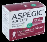 ASPEGIC ADULTES 1000 mg, poudre pour solution buvable en sachet-dose 30 à BAUME-LES-DAMES