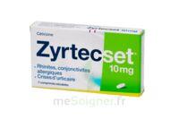 ZYRTECSET 10 mg, comprimé pelliculé sécable à BAUME-LES-DAMES