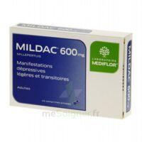MILDAC 600 mg, comprimé enrobé à BAUME-LES-DAMES