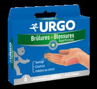 URGO BRULURES-BLESSURES PETIT FORMAT x 6 à BAUME-LES-DAMES