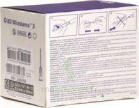 BD MICROLANCE 3, G22 1 1/4, 0,7 mm x 30 mm, noir  à BAUME-LES-DAMES