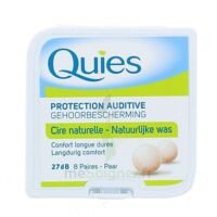 QUIES PROTECTION AUDITIVE CIRE NATURELLE 8 PAIRES à BAUME-LES-DAMES