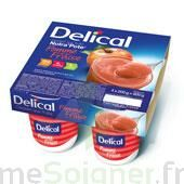 DELICAL NUTRA'POTE DESSERT AUX FRUITS, 200 g x 4 à BAUME-LES-DAMES