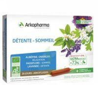 Arkofluide Bio Ultraextract Solution buvable détente sommeil 20 Ampoules/10ml à BAUME-LES-DAMES