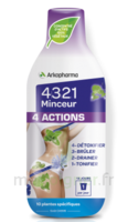 4321 Minceur 4 Actions Solution buvable Fl/280ml à BAUME-LES-DAMES