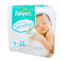 PAMPERS COUCHES NEW BABY SENSITIVE TAILLE 1 2-5 KG x 23 à BAUME-LES-DAMES