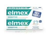 ELMEX SENSITIVE DENTIFRICE, tube 75 ml, pack 2 à BAUME-LES-DAMES
