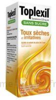 TOPLEXIL 0,33 mg/ml sans sucre solution buvable 150ml à BAUME-LES-DAMES