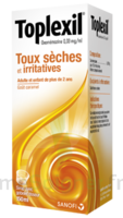 TOPLEXIL 0,33 mg/ml, sirop 150ml à BAUME-LES-DAMES