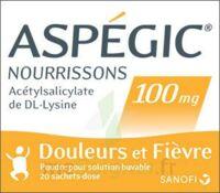 ASPEGIC NOURRISSONS 100 mg, poudre pour solution buvable en sachet-dose à BAUME-LES-DAMES