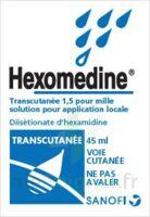 HEXOMEDINE TRANSCUTANEE 1,5 POUR MILLE, solution pour application locale à BAUME-LES-DAMES