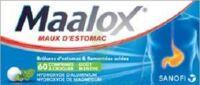 MAALOX HYDROXYDE D'ALUMINIUM/HYDROXYDE DE MAGNESIUM 400 mg/400 mg Cpr à croquer maux d'estomac Plq/60 à BAUME-LES-DAMES