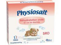 PHYSIOSALT REHYDRATATION ORALE SRO, bt 10 à BAUME-LES-DAMES