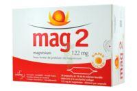 MAG 2 122 mg S buv en ampoule sans sucre édulcoré à la saccharine sodique 30Amp/10ml à BAUME-LES-DAMES