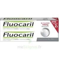 Fluocaril Bi-Fluoré 145 mg Pâte dentifrice blancheur 2*75ml à BAUME-LES-DAMES