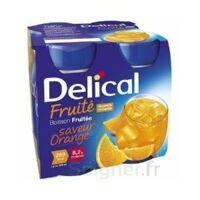 DELICAL BOISSON FRUITEE Nutriment orange 4Bouteilles/200ml à BAUME-LES-DAMES