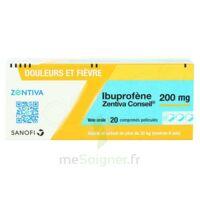 IBUPROFENE ZENTIVA CONSEIL 200 mg, comprimé pelliculé à BAUME-LES-DAMES
