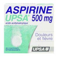 ASPIRINE UPSA 500 mg, comprimé effervescent à BAUME-LES-DAMES