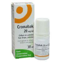 CROMABAK 20 mg/ml, collyre en solution à BAUME-LES-DAMES