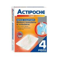 Actipoche Patch chauffant douleurs musculaires B/4 à BAUME-LES-DAMES