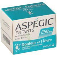 ASPEGIC ENFANTS 250, poudre pour solution buvable en sachet-dose à BAUME-LES-DAMES