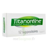 TITANOREINE Suppositoires B/12 à BAUME-LES-DAMES