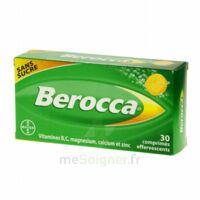 Berocca Comprimés effervescents sans sucre T/30 à BAUME-LES-DAMES