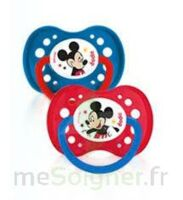 Dodie Disney sucettes silicone +18 mois Mickey Duo à BAUME-LES-DAMES