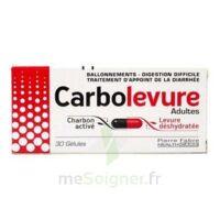 CARBOLEVURE Gélules adulte Plq/30 à BAUME-LES-DAMES