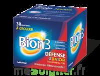 Bion 3 Défense Junior Comprimés à croquer framboise B/30 à BAUME-LES-DAMES