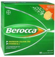 Berocca Comprimés effervescents sans sucre T/60 à BAUME-LES-DAMES