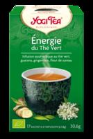 Yogi Tea Thé énergie du thé vert bio 17 Sachets à BAUME-LES-DAMES