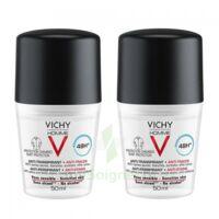 Vichy Homme Déodorant anti-transpirant anti trace 48H 2*Billes/50ml à BAUME-LES-DAMES