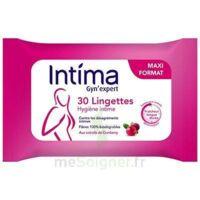 Intima Gyn'Expert Lingettes Cranberry Paquet/30 à BAUME-LES-DAMES