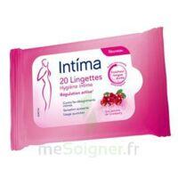 Intima Gyn'Expert Lingettes Cranberry Paquet/20 à BAUME-LES-DAMES