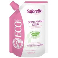 Saforelle Solution soin lavant doux Eco-recharge/400ml à BAUME-LES-DAMES