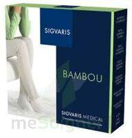 Sigvaris Bambou 2 Chaussette femme vert d'eau N large à BAUME-LES-DAMES