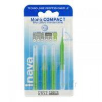 Inava Mono Compact Brossette Extra-large Vert Blister/4 à BAUME-LES-DAMES