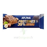 Apurna Barre hyperprotéinée crunchy chocolat noisette 45g à BAUME-LES-DAMES