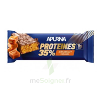 Apurna Barre hyperprotéinée crunchy caramel 45g à BAUME-LES-DAMES